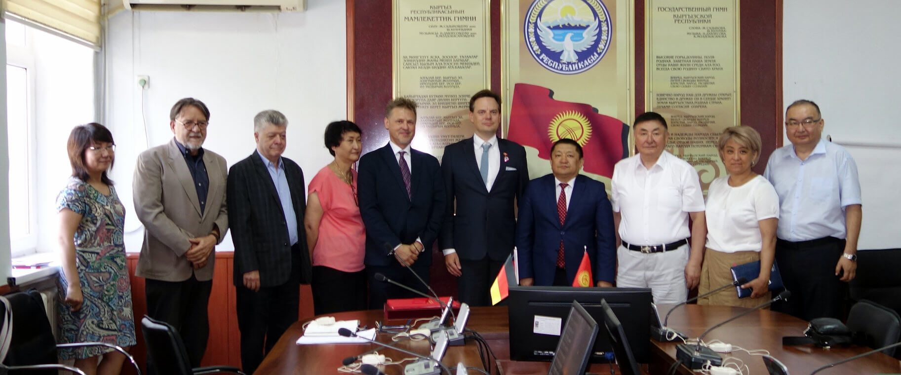 Kyrgyzstan's Ministry of Health honours the project